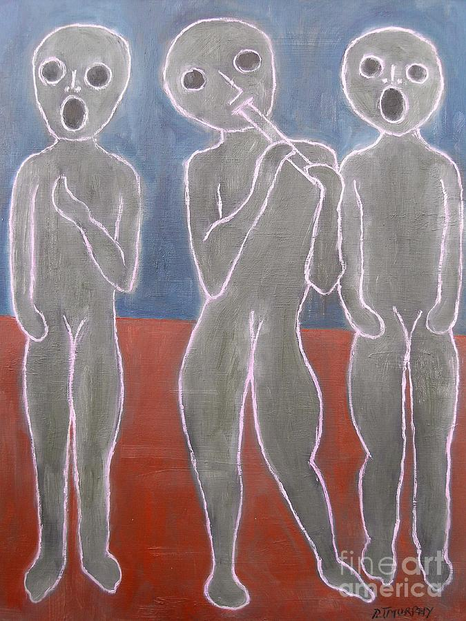 Voices And Music Painting