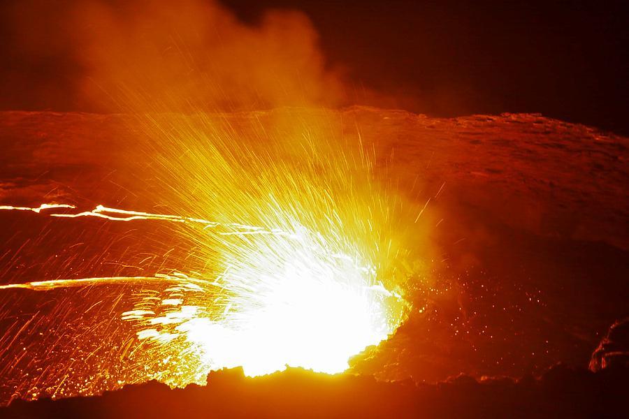 Volcanic Eruption Photograph