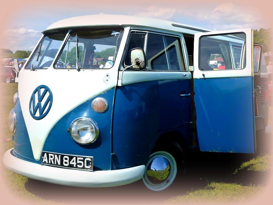 Volkswagen Splitscreen Van Photograph