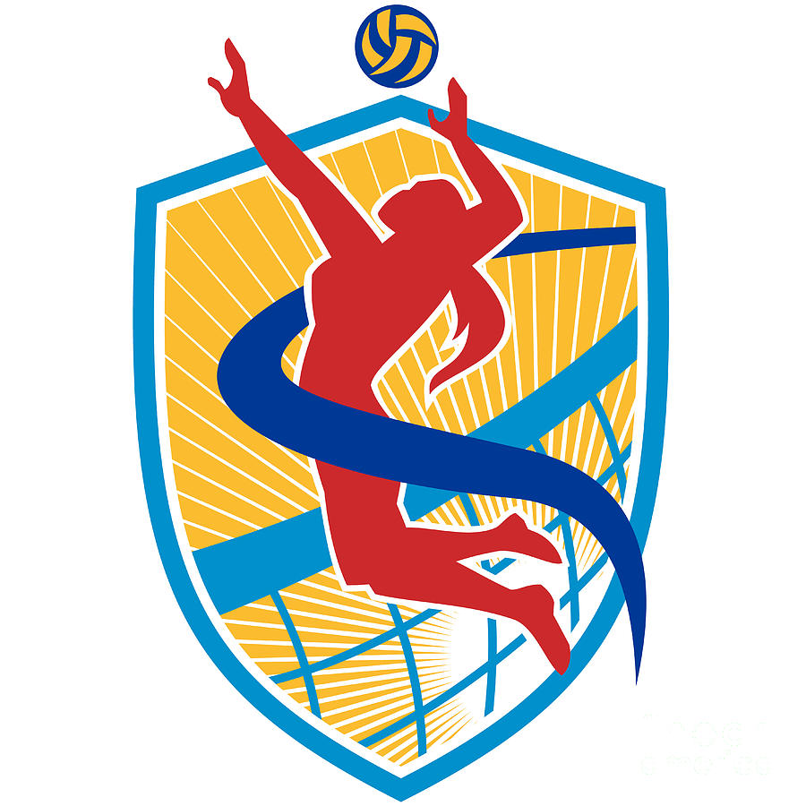 Volleyball Silh...