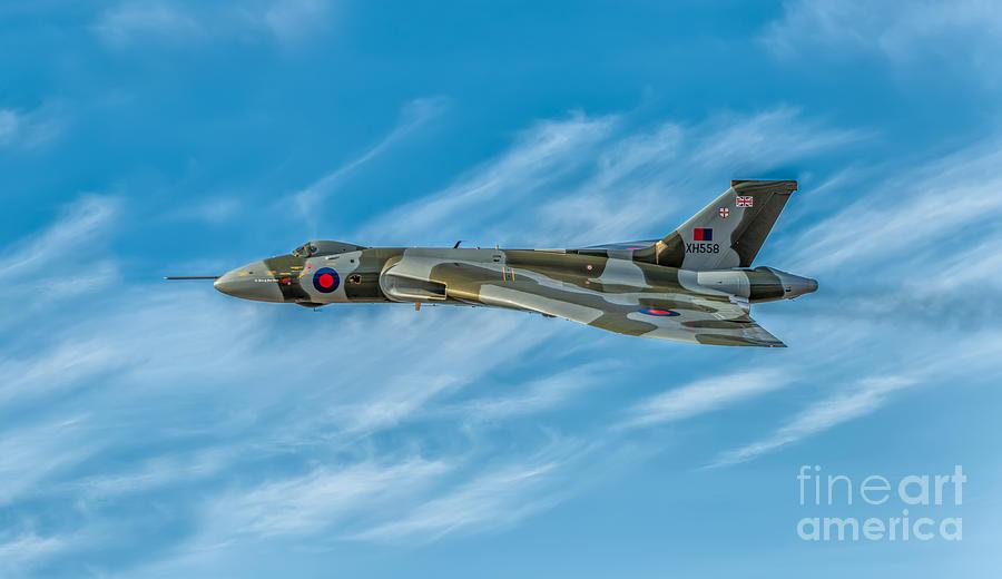Vulcan Bomber Photograph