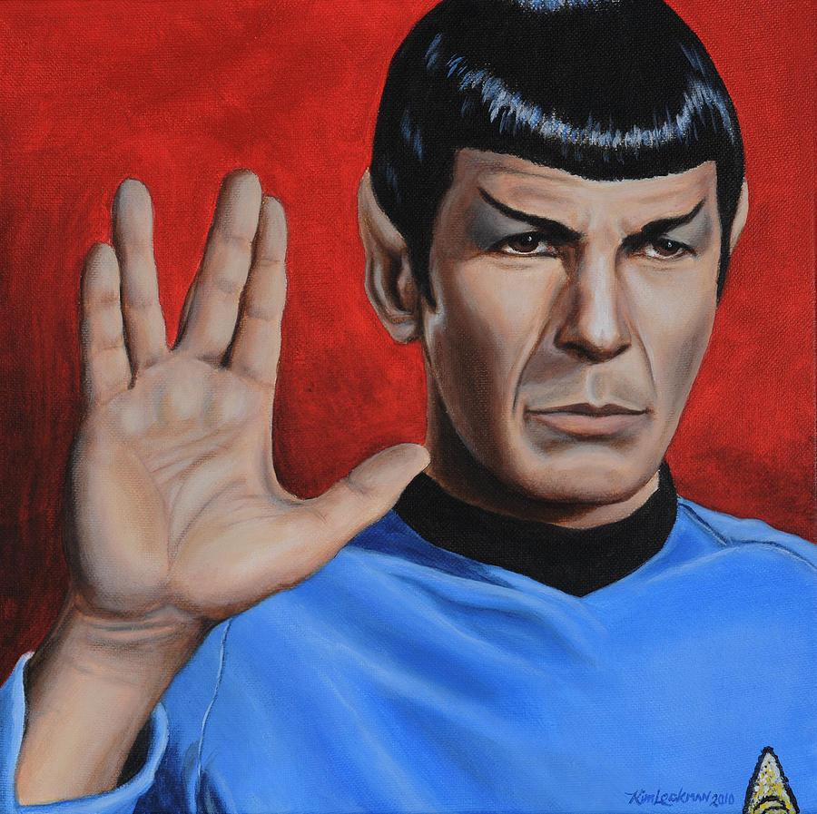 Vulcan Farewell Painting