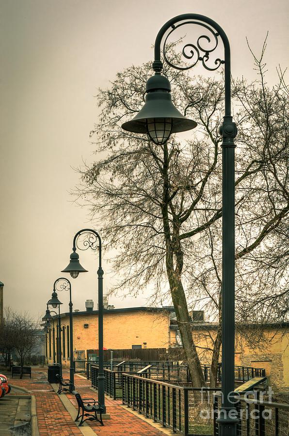 Vulcan Park Streetlamps Photograph