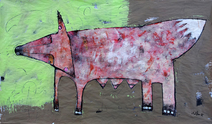 Vulpus 1 Painting