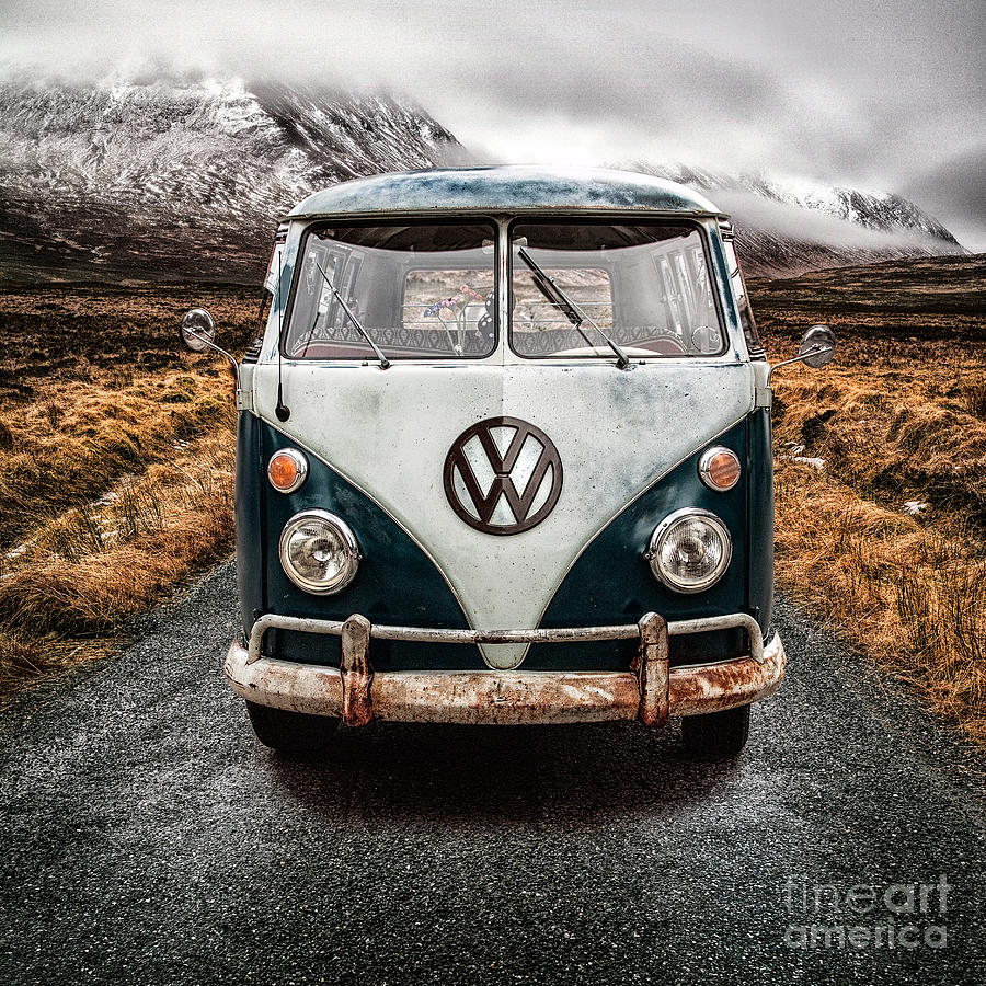 Vw In Glen Etive Photograph