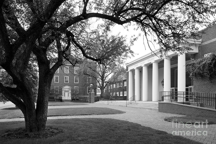 Wabash College Sparks Center Photograph  - Wabash College Sparks Center Fine Art Print