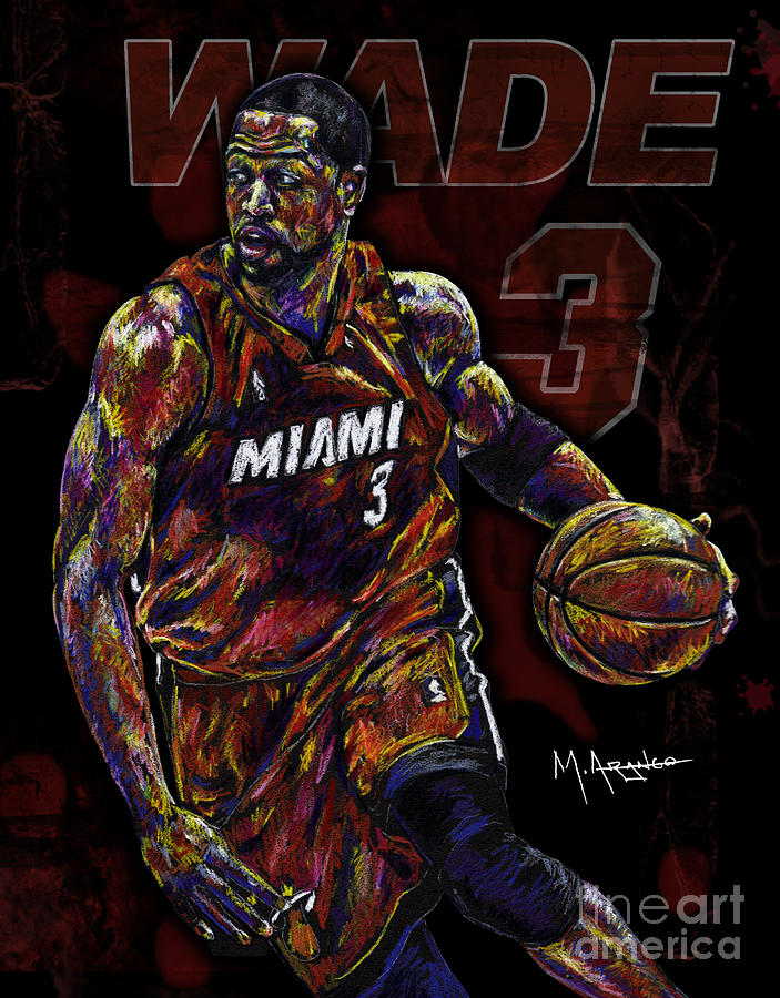 Wade Drawing  - Wade Fine Art Print