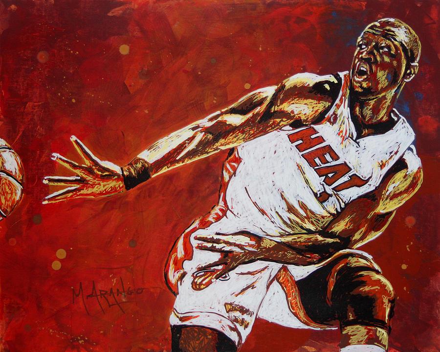 Wade Passes Painting