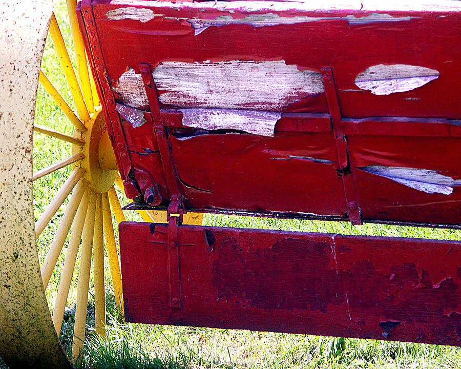 Wagon Photograph - Wagon by Tom Romeo