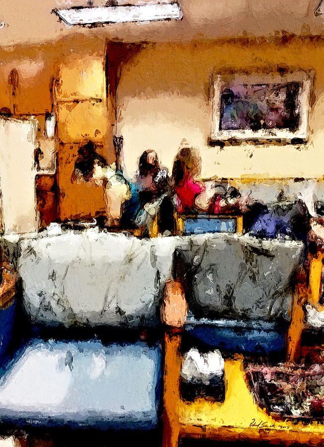 Waiting Painting  - Waiting Fine Art Print