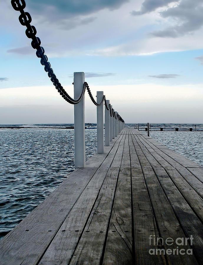 Walk To The Ocean Photograph