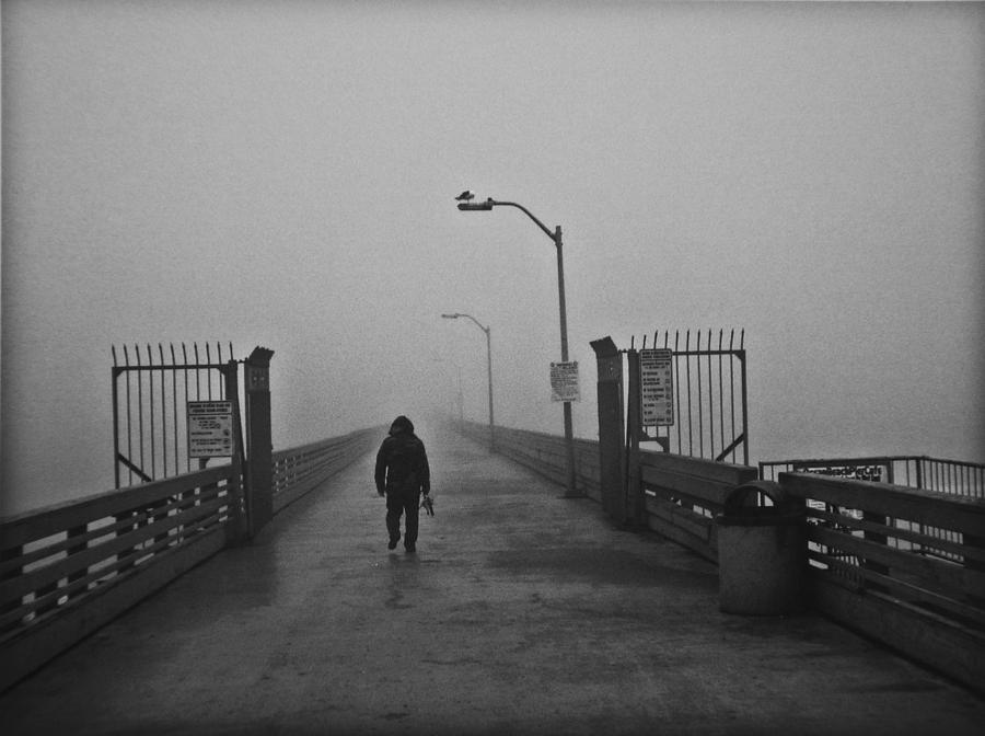 Walking Towards The Abyss Photograph