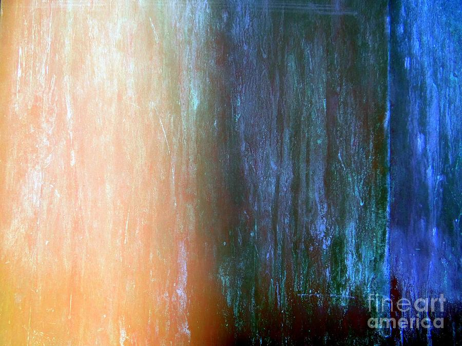 Patina Photograph - Wall Abstract by Ed Weidman