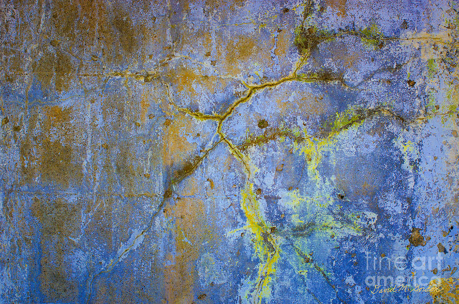 Wall Abstraction I Photograph