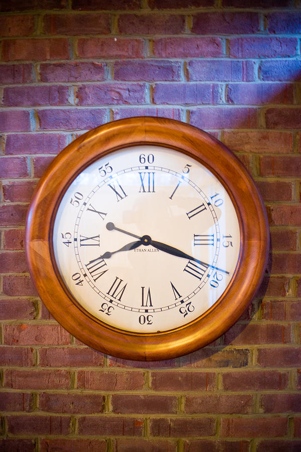 Wall Clock 1 Photograph  - Wall Clock 1 Fine Art Print