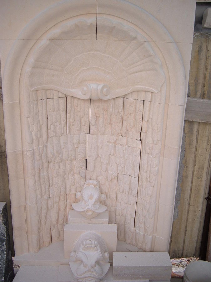 Wall Fountain Relief