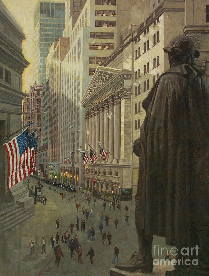 Wall Street 1 Painting