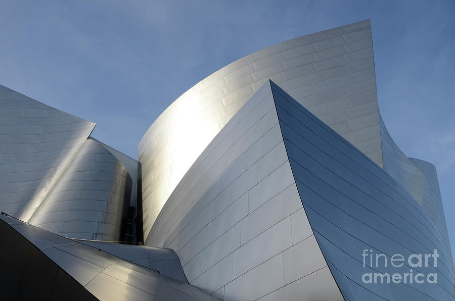 Walt Disney Concert Hall 14 Photograph  - Walt Disney Concert Hall 14 Fine Art Print