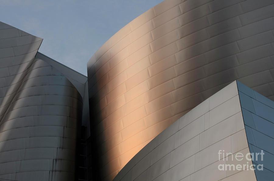 Disney Photograph - Walt Disney Concert Hall 15 by Bob Christopher