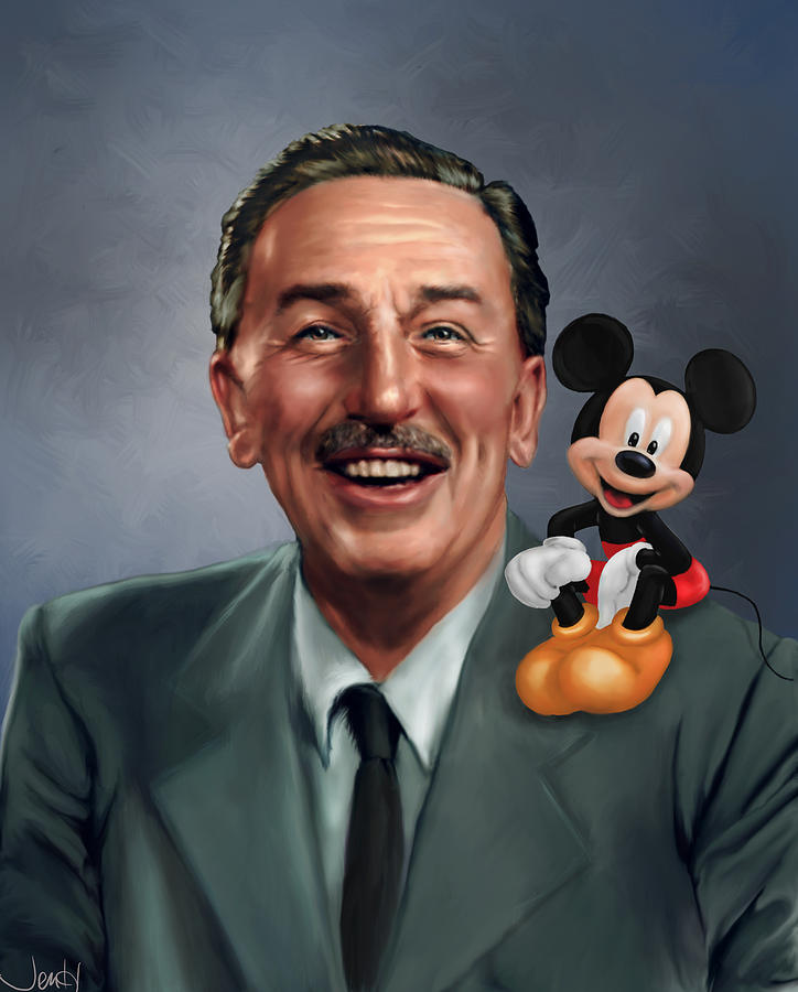 Walt Disney Mickey Mouse Partners Painting