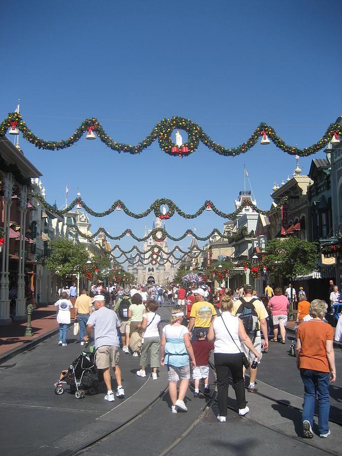 Walt Photograph - Walt Disney World Resort - Magic Kingdom - 1212128 by DC Photographer