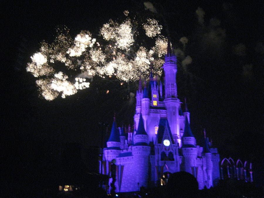 Walt Photograph - Walt Disney World Resort - Magic Kingdom - 121245 by DC Photographer
