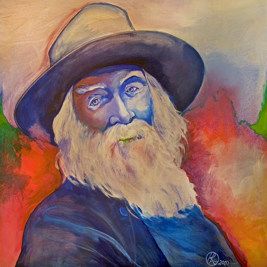 Walt Whitman Painting  - Walt Whitman Fine Art Print