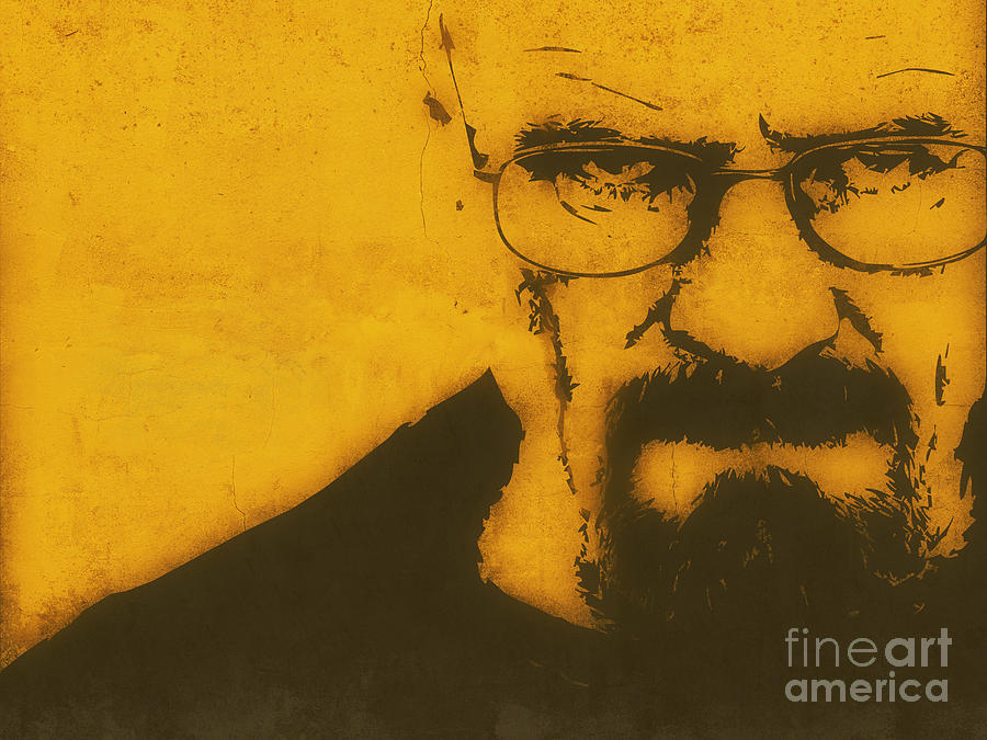 Walter White Breaking Bad Painting  - Walter White Breaking Bad Fine Art Print
