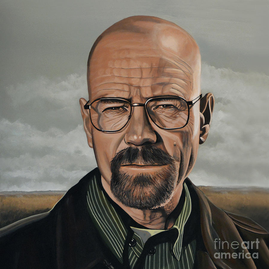 Walter White Painting