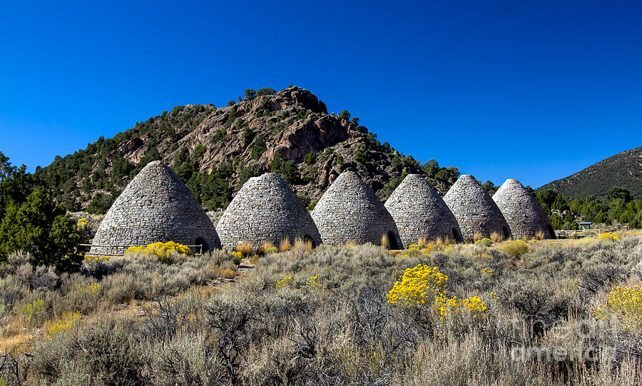 Wards Charcoal Ovens Photograph  - Wards Charcoal Ovens Fine Art Print