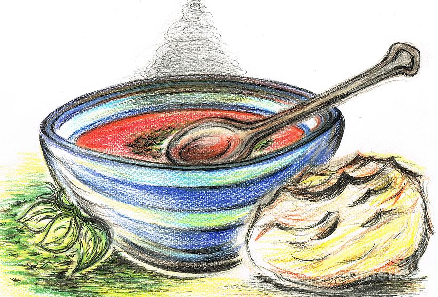 soup drawing Gallery