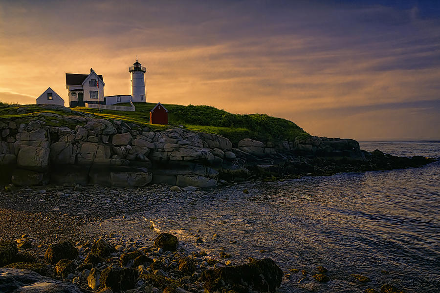 Warm Nubble Dawn Photograph