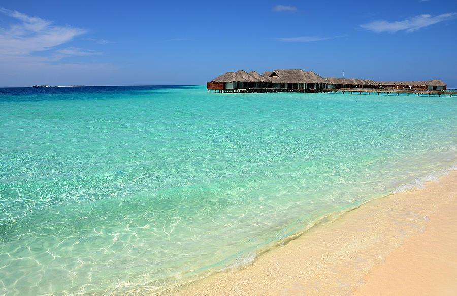 Warm Welcoming. Maldives Photograph
