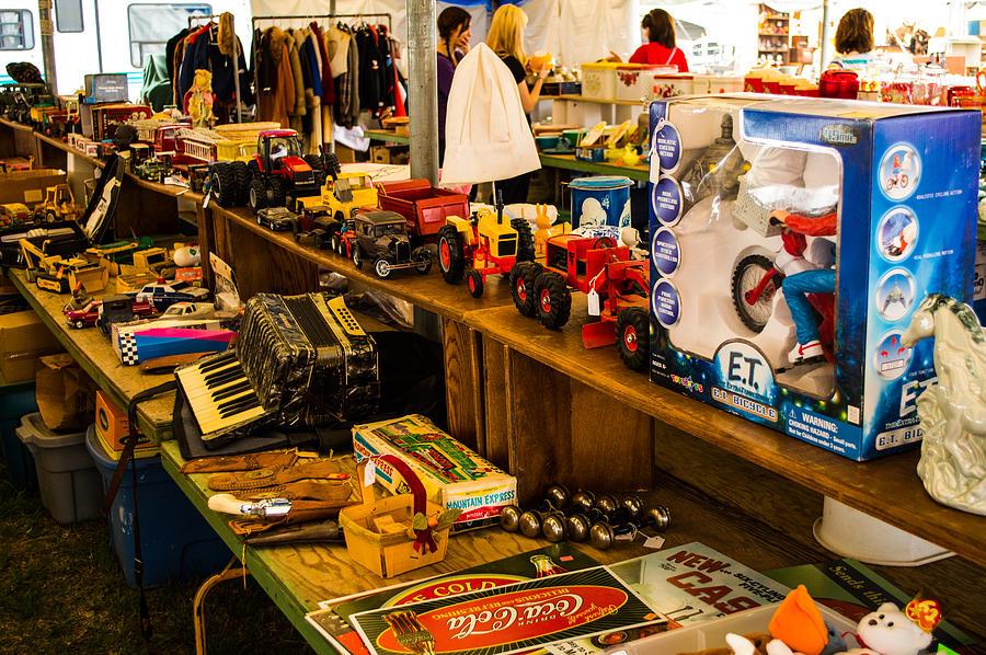 Toys And Joys : Warrenton antique days toys and joys photograph by jg thompson