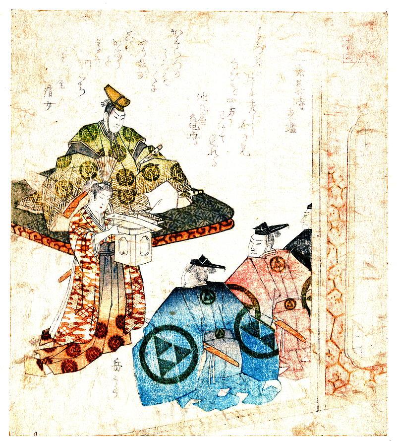 Warrior Hojo Yasutoki 1818 Photograph - Warrior Hojo Yasutoki 1818 by Padre Art