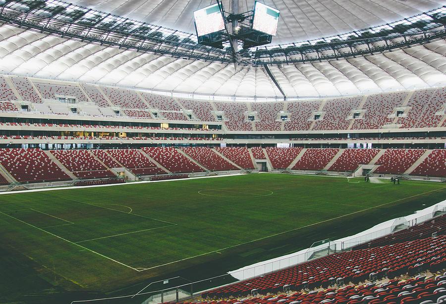 Warsaw Stadion Photograph