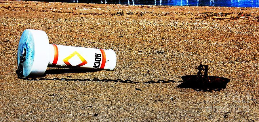 Sand Photograph - Washed A Shore by Judy Palkimas