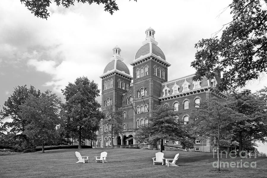 Washington And Jefferson College Old Main Photograph