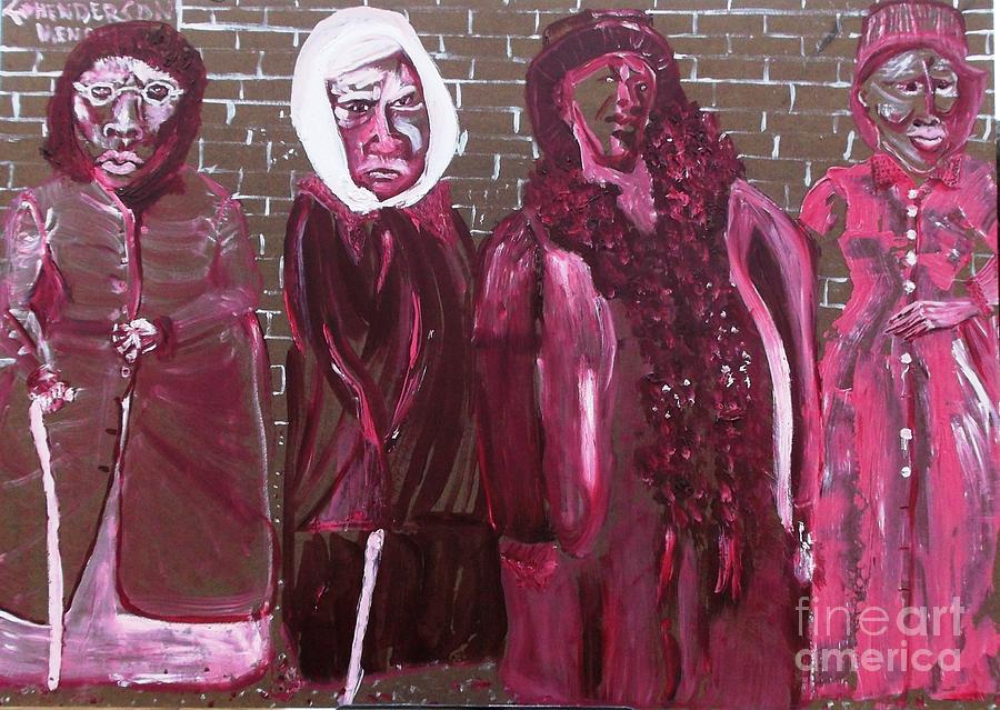 Washington Dc Henderson Memorial Ladies  Painting