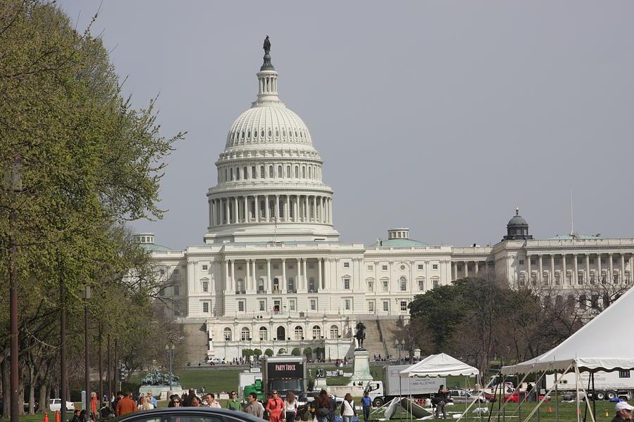 America Photograph - Washington Dc - Us Capitol - 01134 by DC Photographer
