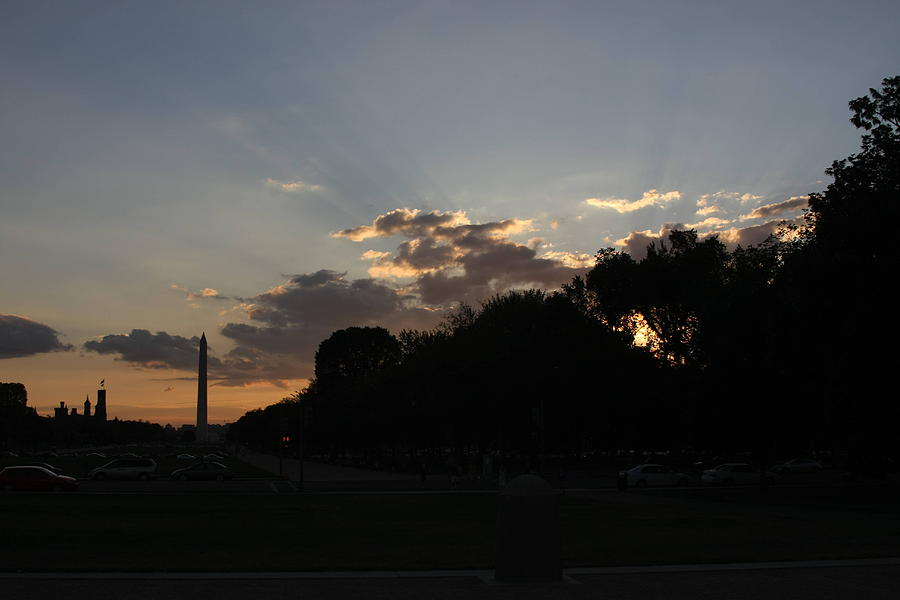 Washington Dc - Washington Monument - 01134 Photograph  - Washington Dc - Washington Monument - 01134 Fine Art Print
