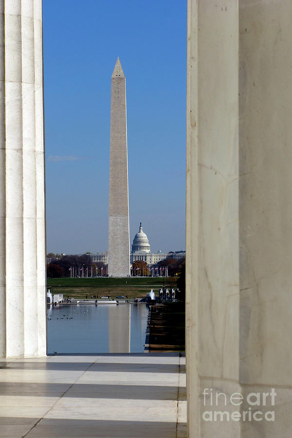 Washington Landmarks Photograph