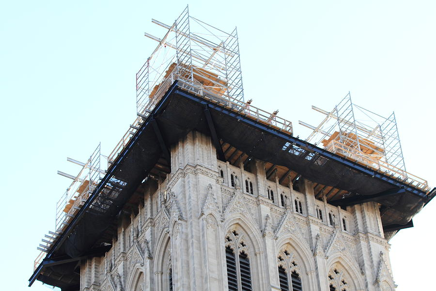 Alter Photograph - Washington National Cathedral - Washington Dc - 01132 by DC Photographer