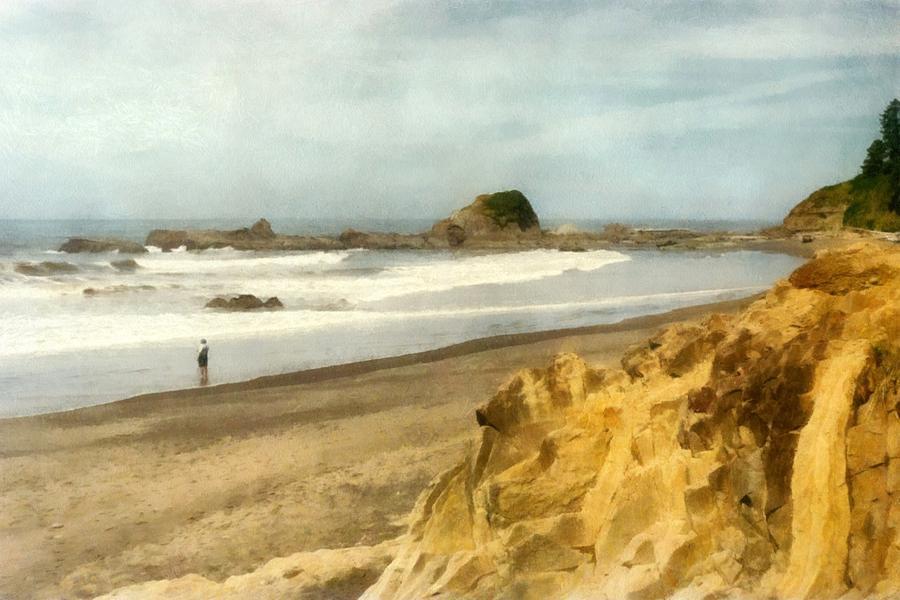 Washington State Coastline Photograph - Washington State Seastacks by Michelle Calkins