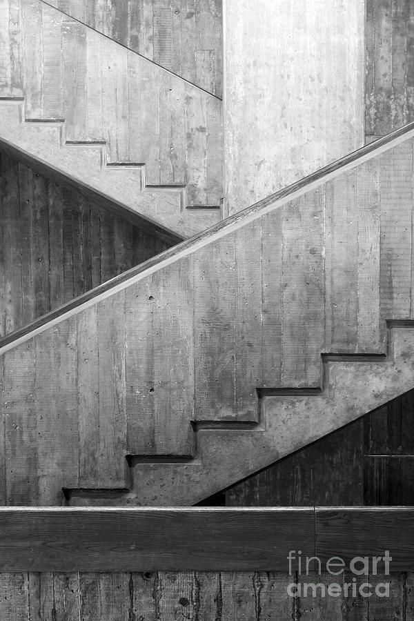 Washington University Eliot Hall Stairway Photograph