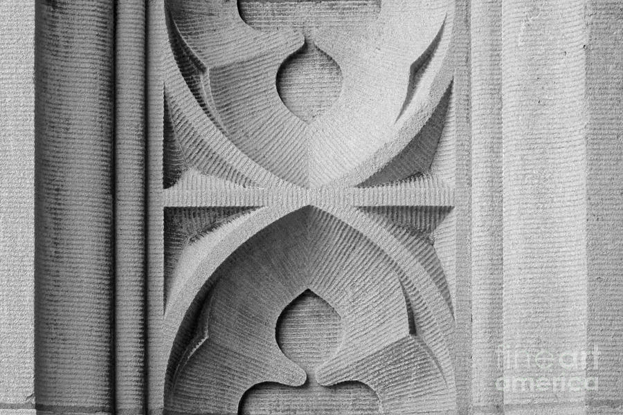 Washington University Stone Detail Photograph