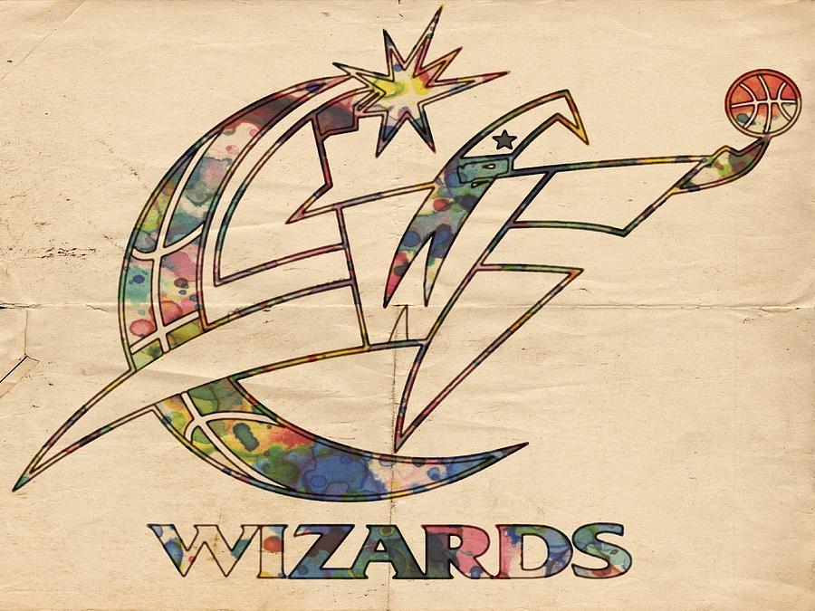 Washington Wizards Poster Art Painting