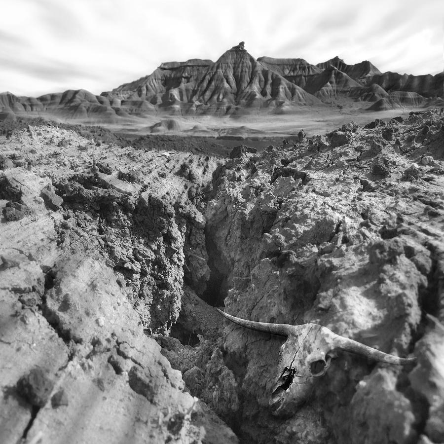 Southwest America Photograph - Wasteland by Mike McGlothlen