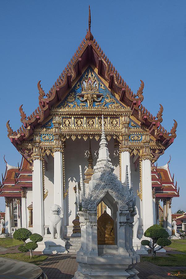 Bangkok Photograph - Wat Amarintaram Ubosot Dthb1507 by Gerry Gantt
