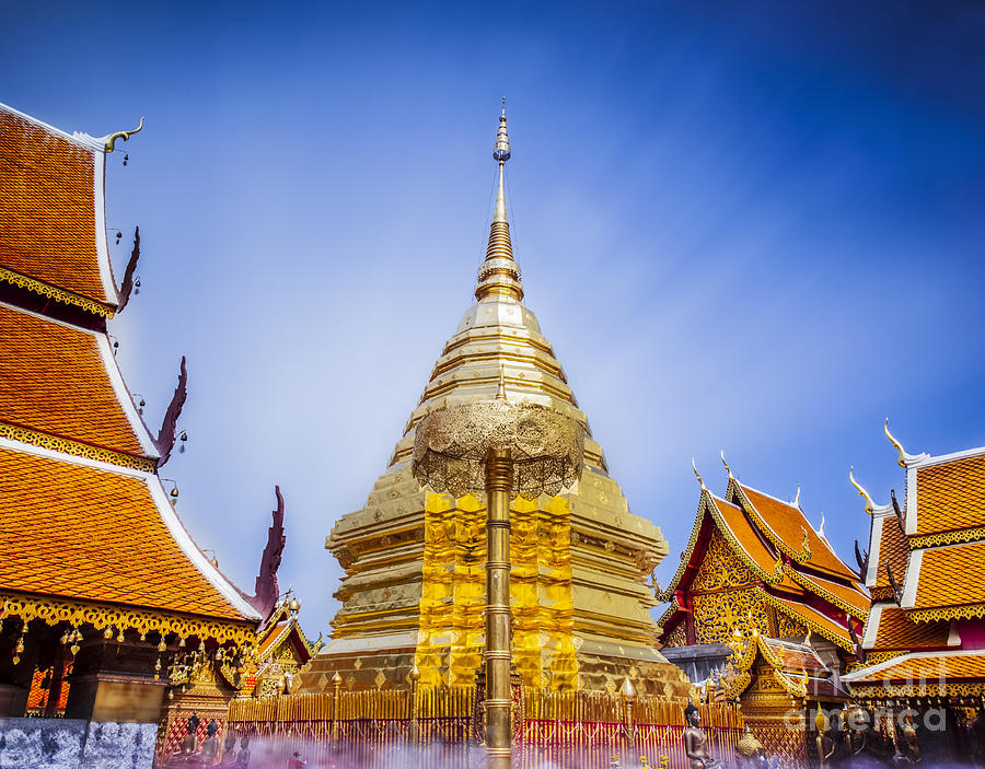 Wat Phra That Doi Suthep Photograph by Anek Suwannaphoom